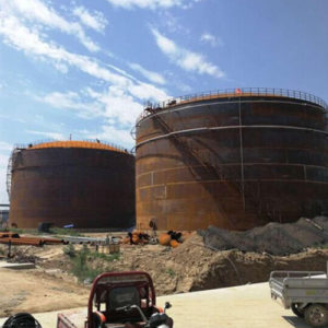 fire protection large storage tank