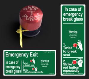 Safe T Punch | Emergency Break Glass System
